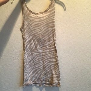 Hard Tail Tank Top Low Back Size S
